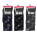 Virtus calze donna lunghe linea basic socks caldo cotone fantasia a cuori ART.V14020 ( 3 paia )