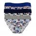 IN-UP Slip Bambino in cotone bielastico con elastico risvoltato internamente e bordature morbide ART.14951-AS ( 3 PEZZI )
