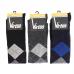 Virtus calze uomo lunghe linea basic socks caldo cotone fantasia a Rombi ART.V32 ROMBO ( 3 Paia )