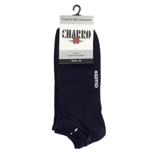 """""""El Charrò"""" Sneaker (Fantasmino) cotone mercerizzato elasticizzato Uomo ART. JACOPO (3 Paia)"""