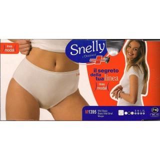 Snelly Slip Midi donna in cotone e modal elasticizzati ART.1395
