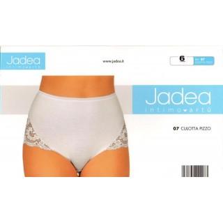 Jadea-Culotta pizzo donna cotone elasticizzato ART.07