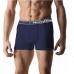 Guru99 Boxer uomo con elastico esterna in morbido cotone elasticizzato tinta unita ART.3426 S ( 3 PEZZI )