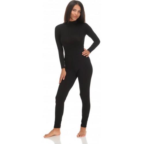 L//XL Jadea Nero Winter Leggings Donna 4367