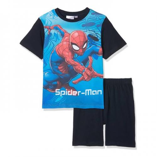 l'atteggiamento migliore f7d9b 6b6bd Pigiama Bambino Marvel di Spider-man T-shirt e pantaloncino ART. ER2003