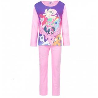 Pigiama Bambina My Little Pony 3-8 maniche lunghe in cotone estivo ART.ER2108 ROSA