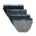 """""""Sweet Years"""" Slip uomo con elastico esterna in cotone elasticizzato morbido tinta unita ART.3425 S ( 4 PEZZI )"""